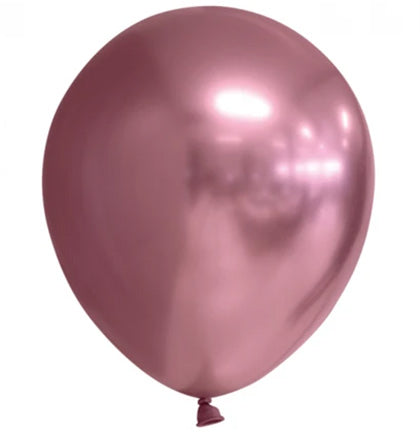 Metallic Pink Party Balloons