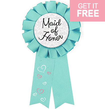 Maid of Honor Award Button