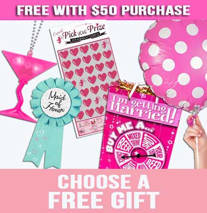 Spend $50+ & Choose a FREE GIFT