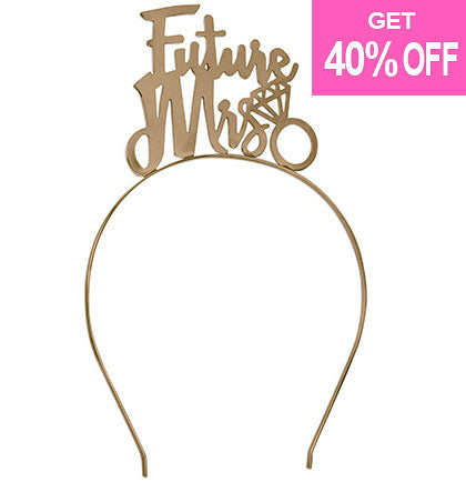 Future Mrs Gold Headband