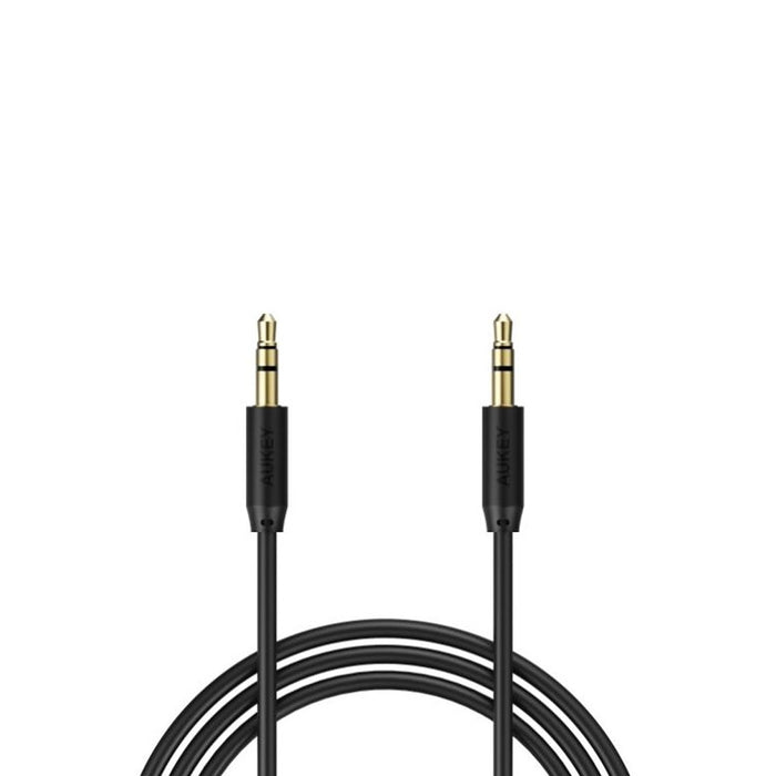 AUKEY CB-V10 Premium 3.5mm Audio Gold Plated AUX Cable 1.2 meter