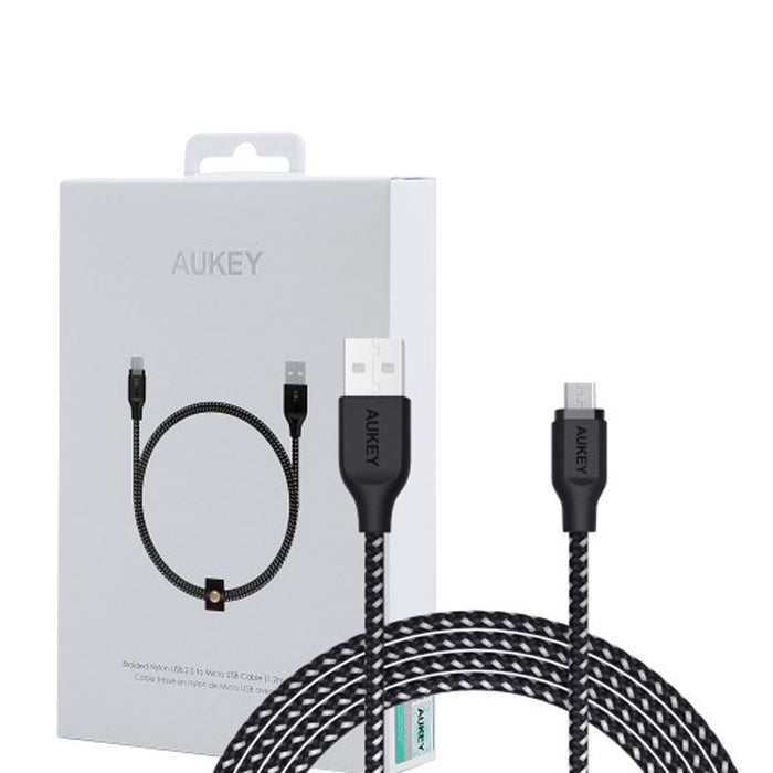 AUKEY CB-AM1 High Performance Nylon Micro USB Cable 1.2m