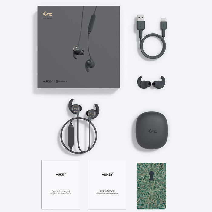 AUKEY EP-B60 Wireless Magnetic Sport Earphones Key Series