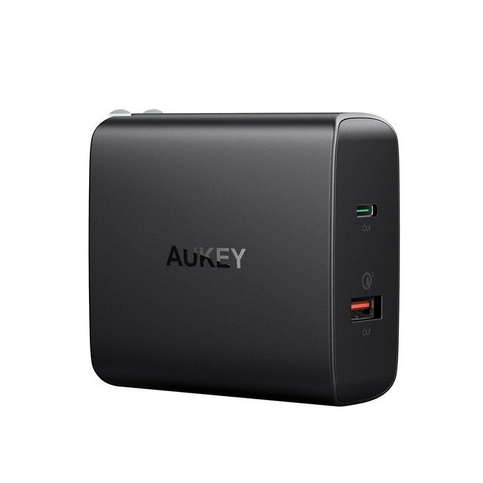 AUKEY PA-Y11 Amp USB-C Dual Port Wall Charger