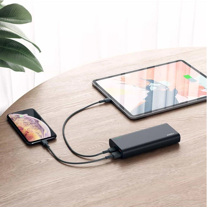 AUKEY PB-XD13 20000mAh USB C QC3.0 and Power Delivery Premium Power Bank