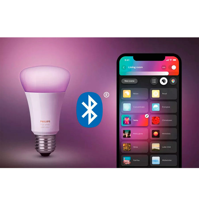 Philips Hue WCA 9W A60 E27 Smart Bulb PH
