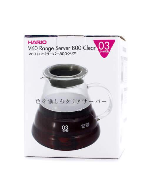 Hario Range Server V60-02 Microwave - 800 ml
