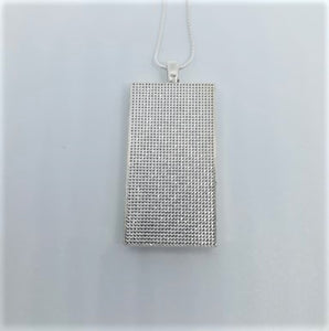 """KC -> NOLA"" Rectangle Pendant Necklace"