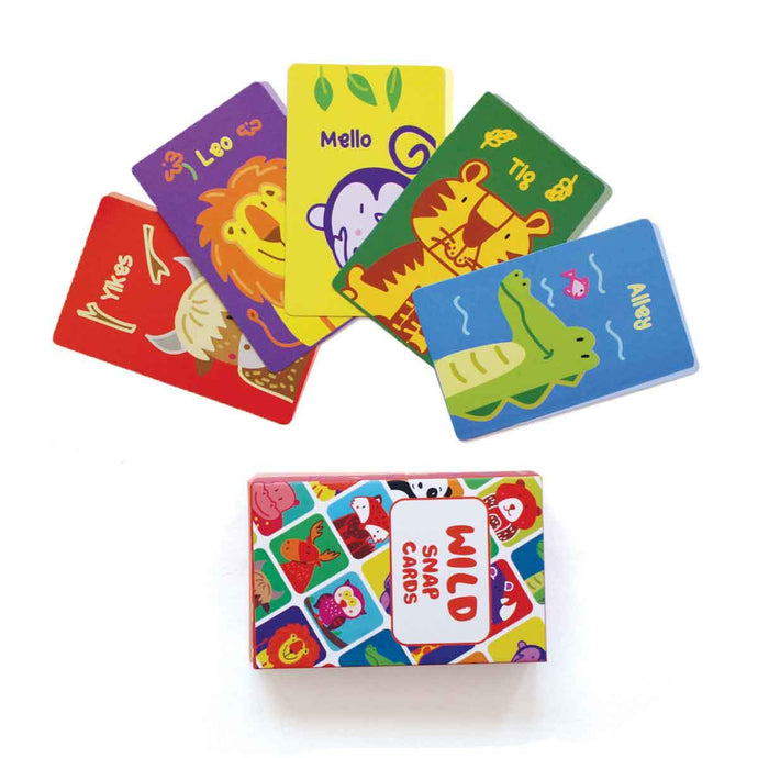 Animal Snap Card Family Game