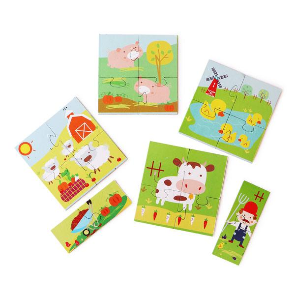 Farm Jigsaw Puzzle for Kids