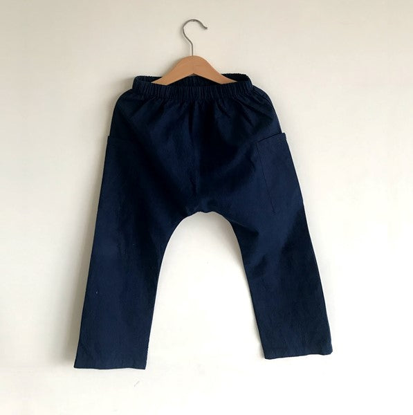 Aaron Harem Pants  - Navy