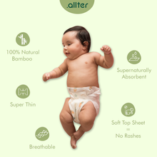 Load image into Gallery viewer, Organic Disposable Diapers and Wipes - Combo Deal
