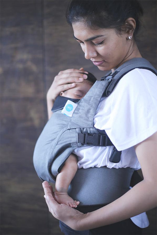 Cotton baby carrier - 0m - 12m
