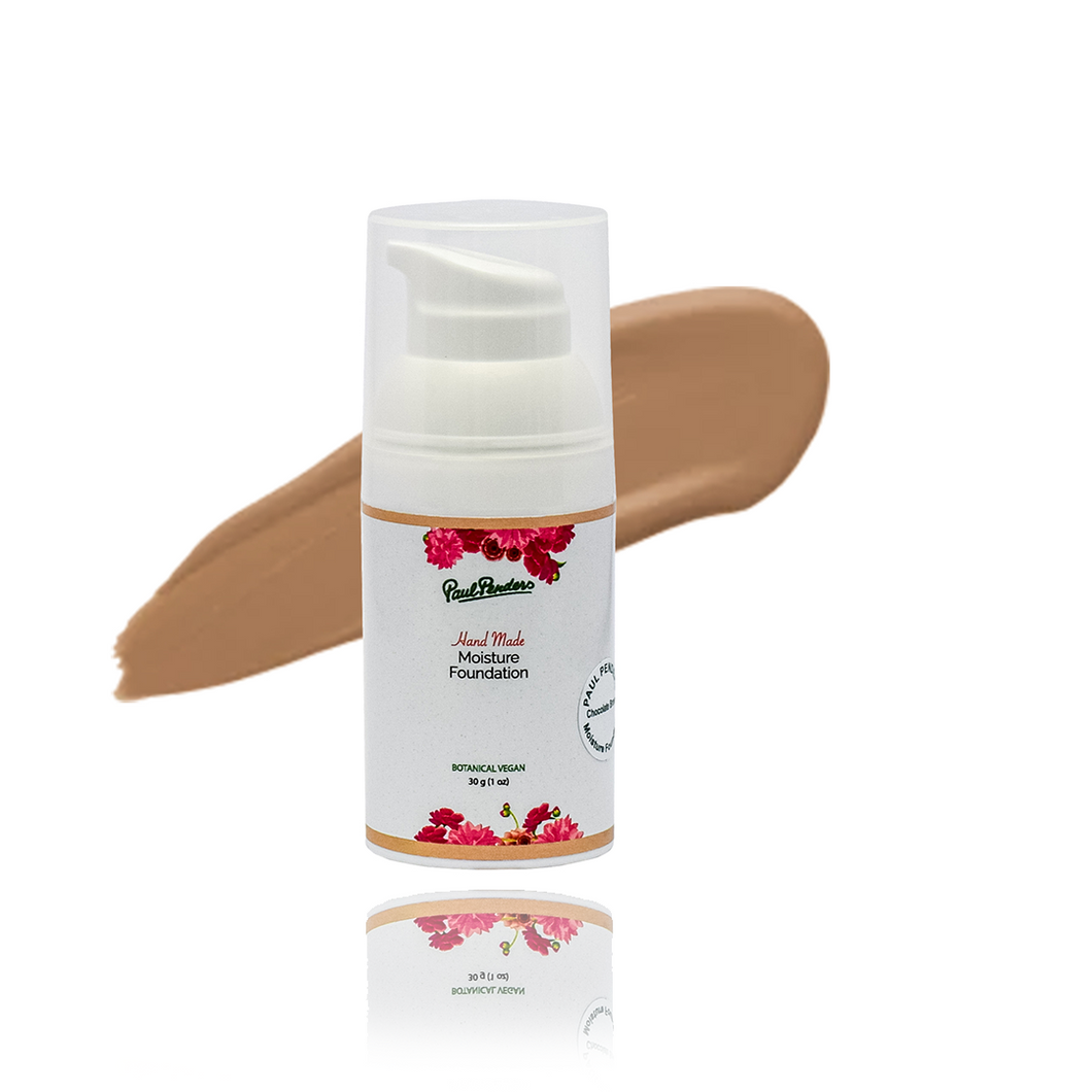 Natural, Hand-Made Foundation - Chocolate Brown