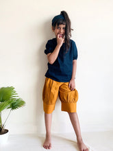 Load image into Gallery viewer, Mia Puffed Shorts  -  Mustard