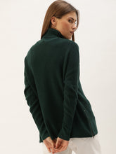 Load image into Gallery viewer, Green Turtle Neck Sweater
