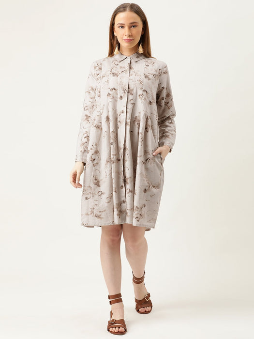 Relaxed Fit Shirt Dress