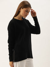 Load image into Gallery viewer, Black Turtle Neck Sweater