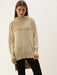 Beige Turtle Neck Sweater