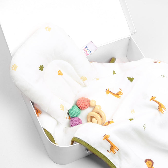 Tiny Paws Organic Baby Pillow