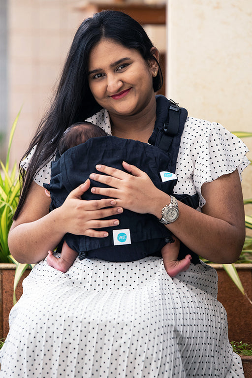 Cotton baby carrier - 0m - 4Y
