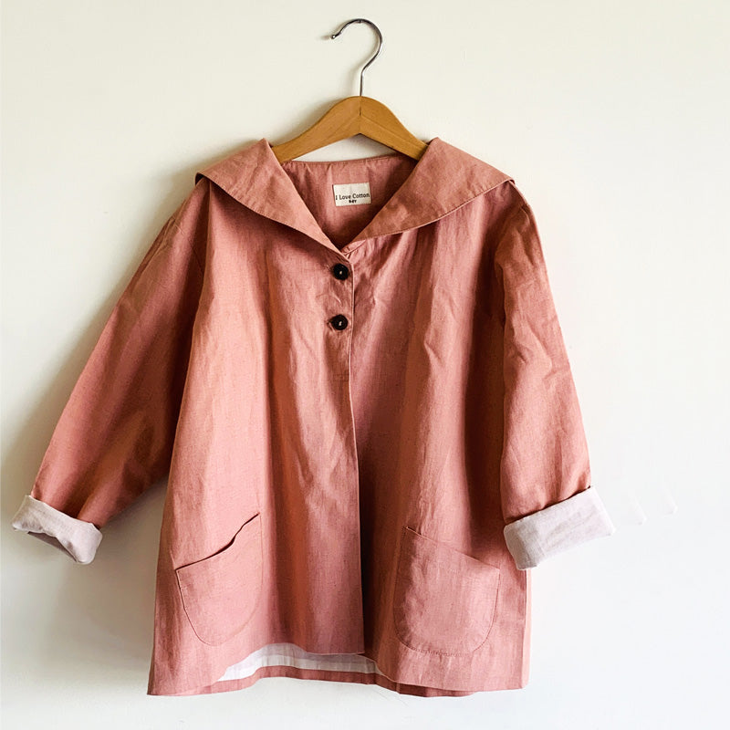 Madelyn Cotton Linen Jacket