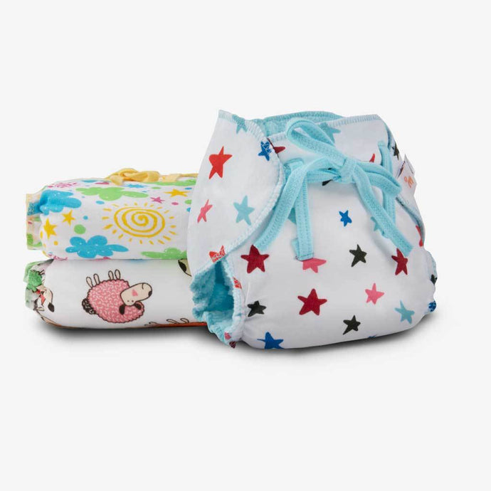 Reusable Dry-Feel Nappies