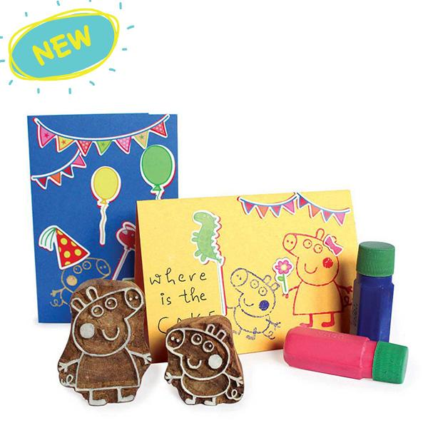 Peppa Pig Stamp Set for Kids