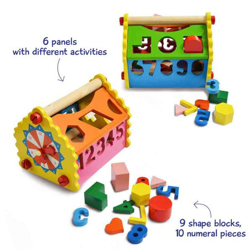 Shape & Number House for kids.