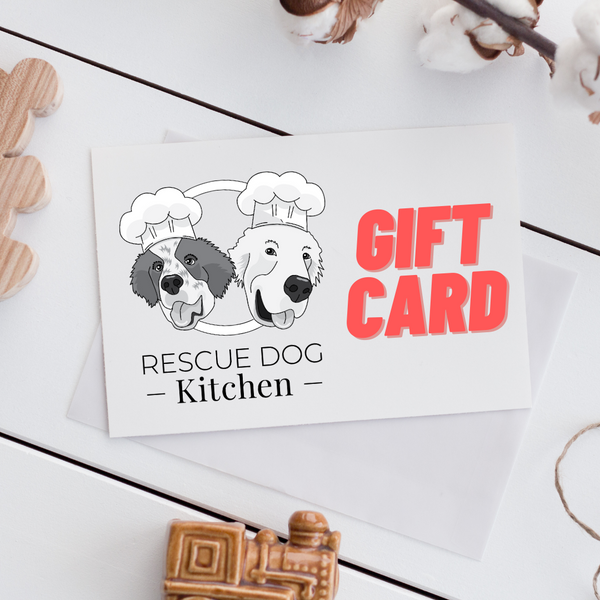 Rescue Dog Kitchen Gift Card