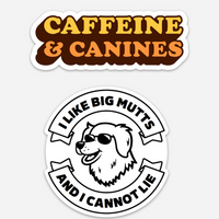 Large Rescue Dog 2 Sticker Pack