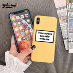 Funny Message Phone Case for iPhones