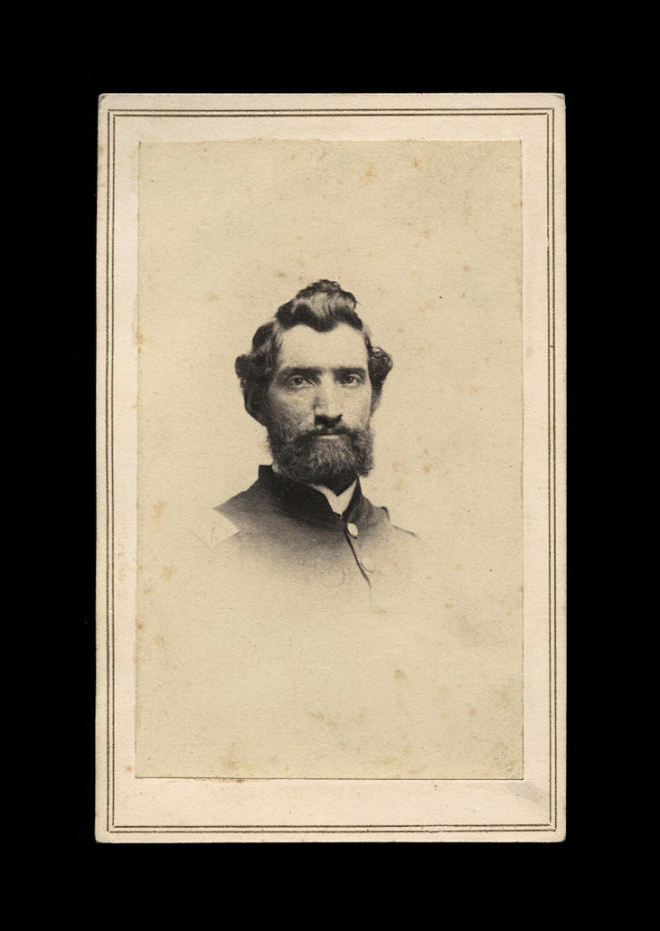 Bearded Civil War Soldier - Almost Surely From Lexington Kentucky