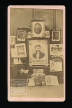 Load image into Gallery viewer, Rare Advertising CDV of Illinois Photographer Including Camera