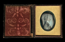 Load image into Gallery viewer, 1840s Daguerreotype Photo Folk Art Painting Revolutionary War Era Military Man