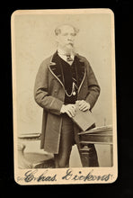Load image into Gallery viewer, Original CDV Photo of Charles Dickens by Gurney New York