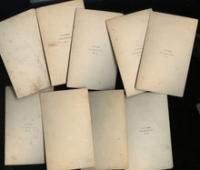 Load image into Gallery viewer, Lot of Civil War Era 1860s CDV Photos Champlain New York Photographer LP Case
