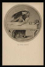 Load image into Gallery viewer, Burying the Dead / Antique Postcard, Unmailed