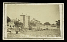 Load image into Gallery viewer, Rare 1860s CDV City Gates of St. Augustine by Florida Photographer Geo. Pierron
