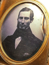 Load image into Gallery viewer, 1850s Daguerreotype Handsome Man Seals Mostly Intact Boston School