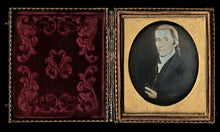 Load image into Gallery viewer, 1850s Daguerreotype Painting of Revolutionary or Colonial Man maybe Political