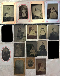 Lot of 15 Tintypes