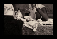 Load image into Gallery viewer, Wonderful COFFEE KLATCH / Masquerade / Tea Party Incl Doll 1890 Wisconsin Photo