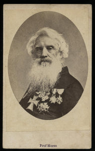 Samuel Morse Inventor of the Telegraph / 1870s Photo CDV