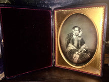 Load image into Gallery viewer, Half Plate Daguerreotype by Important Boston Photographer Whipple