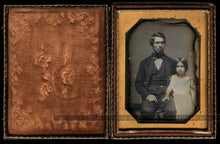 Load image into Gallery viewer, daguerreotype lot tennessee family w black nanny slave tinted doll pre civil war