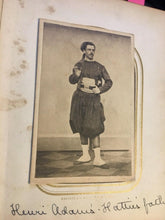 Load image into Gallery viewer, Rare CDV Photo ID'd Civil War Soldier 55th NY Lafayette Guard Zouave