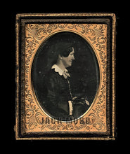 Load image into Gallery viewer, Very Rare 1850s Daguerreotype Photo Poet Author Political Essayist Louisa McCord