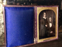 Load image into Gallery viewer, Half Plate McClees Germon Daguerreotype ID & Dated Philadelphia Merchant and Wife