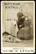 Load image into Gallery viewer, Rare Antique Occupational Advertising Cabinet Card - SLC Utah Dentist at Work with Patient